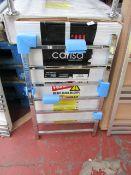 Carisa Thor Chrome 500x800 radiator, with box, RRP £226, please read lot 0.