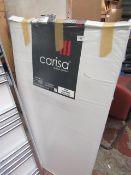 Carisa Nile Chrome 600x1200 radiator, with box, RRP £100, please read lot 0.