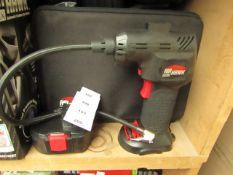 | 1x | AIR HAWK MAX CORDLESS COMPRESSOR | UNCHECKED AND IN CARRY CASE | NO ONLINE RE-SALE | SKU