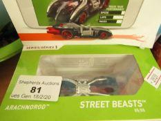 Hot Wheels Street Beasts Arachnorod. New & Packaged