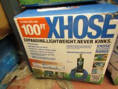 | 1x | XHOSE 100FT | UNCHECKED AND BOXED | NO ONLINE RE-SALE | SKU C5060191461092 | RRP £49:99 |