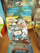 4x Various toys being; Racing Thomas and Captain Jake toy set, new and packaged.