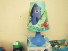 Philips Finding Dory night light, untested and boxed.