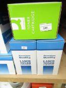 3x Premium Quality Laser Toner Cartridge's - All Boxed.