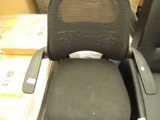 Bayside mesh style Office Chair. Needs a dust