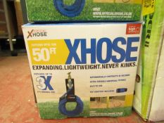 | 1x | XHOSE 50FT | UNCHECKED AND BOXED | NO ONLINE RE-SALE | SKU C5060191461078 | RRP £29:99 |
