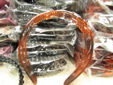12x Head-Bands - Black&Brown - Packaged.