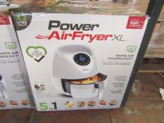| 1X | POWER AIR FRYER 3.2L | UNCHECKED AND BOXED | NO ONLINE RE-SALE | SKU C5060191469838 | RRP £