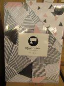 Sanctuary Bailey Multi Coloured Reversible Duvet Set Single,100% Cotton RRP £49.99 New & Packaged