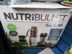 | 1x | NUTRIBULLET 900 SERIES | UNCHECKED AND BOXED | NO ONLINE RE-SALE | SKU C5060191464758 |