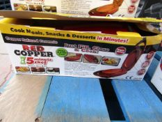 | 1x | RED COPPER 5 MINUTE CHEF | UNCHECKED & BOXED | NO ONLINE RE-SALE | SKU C5060541512757 |