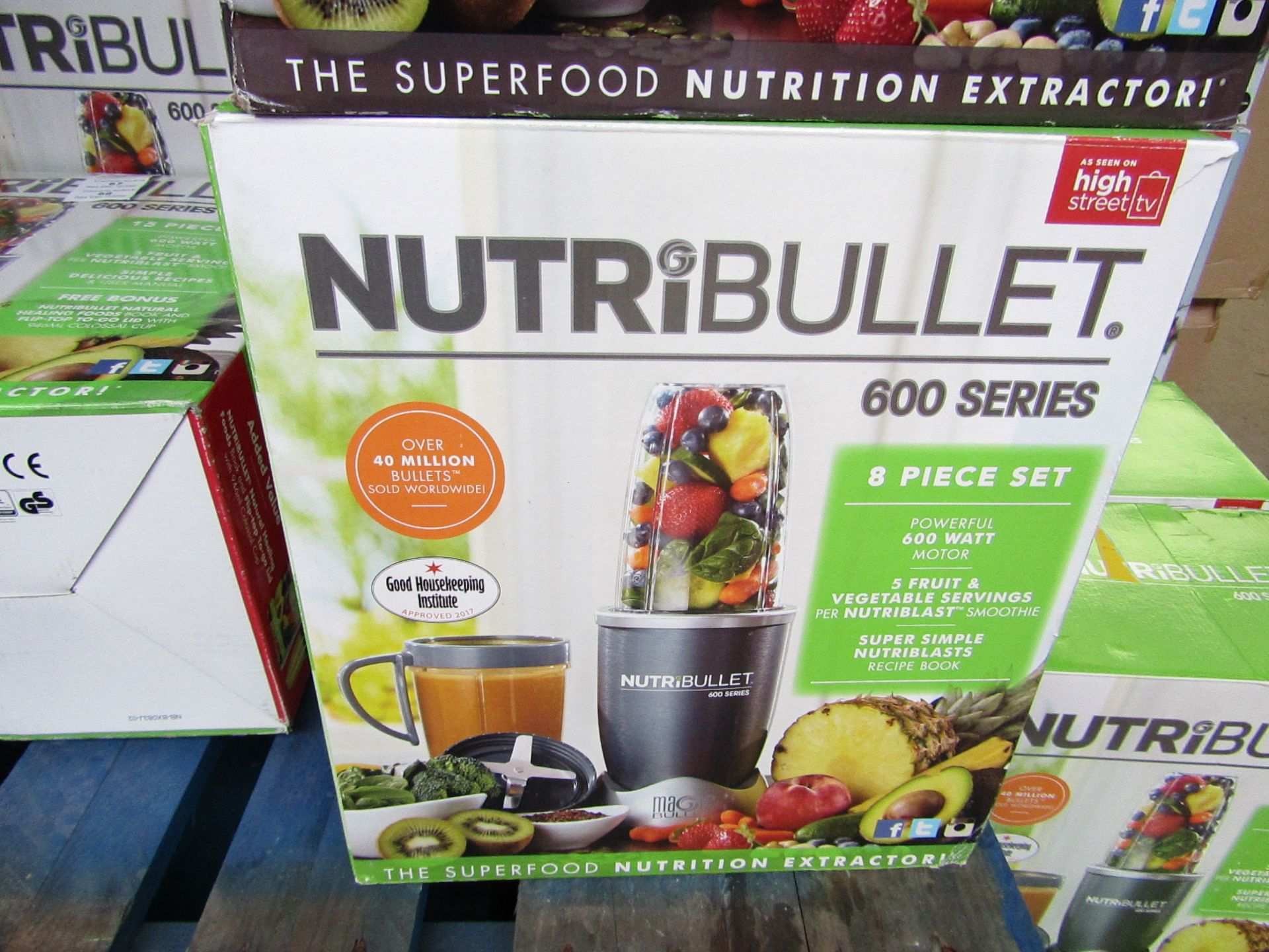 Lot 57 - | 1x | NUTRIBULLET 600 SERIES | UNCHECKED AND BOXED | NO ONLINE RE-SALE | SKU C5060191461245 |