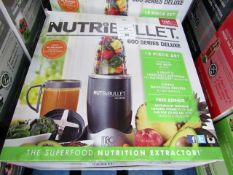 | 1x | NUTRIBULLET 600 SERIES | UNCHECKED AND BOXED | NO ONLINE RE-SALE | SKU C5060191462198 |
