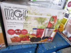 | 1x | MAGIC BULLET | UNCHECKED AND BOXED | NO ONLINE RE-SALE | SKU C5060191467360 | RRP £39:99 |