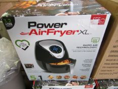 | 1x | POWER AIR FRYER XL 3.2L | UNCHECKED AND BOXED | NO ONLINE RE-SALE | SKU C5060191465366 |
