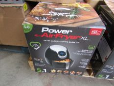 | 1x | POWER AIR FRYER XL 5.0L | UNCHECKED AND BOXED | NO ONLINE RE-SALE | SKU C5060191466936 |
