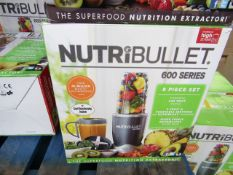 | 1x | NUTRIBULLET 600 SERIES | UNCHECKED AND BOXED | NO ONLINE RE-SALE | SKU C5060191461245 |