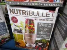 | 1x | NUTRIBULLET 900 SERIES | UNCHECKED AND BOXED | NO ONLINE RE-SALE | SKU C5060191463409 |