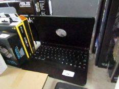 Tablet keyboard with case, untested.