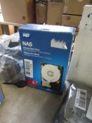 Western Digital Nas internal hard drive, untested and boxed.