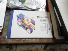 Mega 2560 Elegoo open source electronics prototyping platform, untested and boxed.