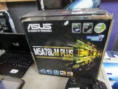Asus M5A78L-M Plus, untested and boxed. RRP £70.00