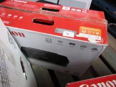 Canon Pixma MG 3050 printer, untested and boxed.