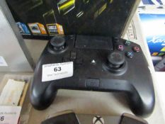 Playstation 4 Razer Raiju Ultimate controller, tested working but has a loose R2 button. RRP £199.