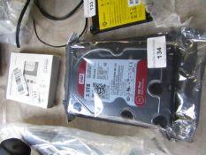 Western Digital 3TB hard dribe untested.