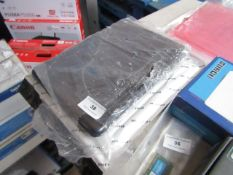 4x Various protective cases, all packaged.