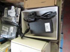 Leicke AC power adaptor, untested and boxed.