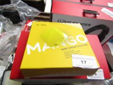 GL Net Mango mini smart router, untested and boxed.