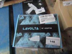 Lavolta AC adaptor, untested.