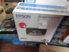 Epson Expression Home XP-352 multi-functional printer, untested and boxed.