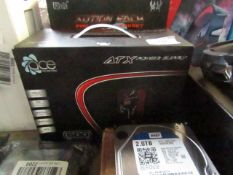 Ace ATX power supply, untested and boxed.