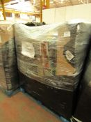 | 31X | THE PALLET INCLUDES NUTRI BULLETS, X HOSES, AIR FRYER XL AND MORE | BOXED AND UNCHECKED | NO