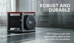 We are still open on Monday!!, Pallets of Fitt Cube complete home exercise machines.