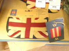 W W Union Jack Patriotic Purse 5 x 3.5 inches new with tag
