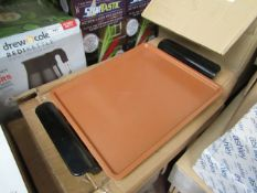 | 1X | STEEL GRIDDLE PLATE | UNCHECKED AND BOXED | NO ONLINE RE-SALE | SKU - | RRP - | TOTAL LOT RRP