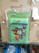 Box of 12 Skylander Universal Cargo Sleeves For Ipods & Smartphones. New & Packaged