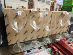 6 x Banquet Wine Glasses boxed