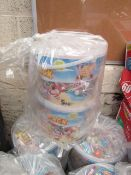 2x Tubs of 5Kg Swizzles party packs.