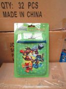 Box of 48 x Skylander Universal Cargo Sleeves For Ipods & Smartphones. New & Packaged