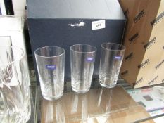 6 x Banquet Small Tumbler Glasses. Boxed
