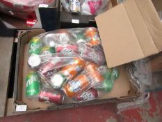 Approx 20x 330ml Fanta, Dr Pepper and Sprite cans. BB 31/12/2020