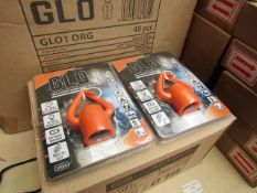 Box of 48x Glo bottle lights, new and packaged. RRP £12.00