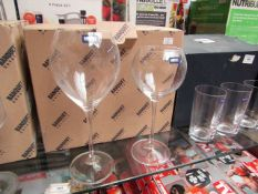 5 x Banquet Wine Glasses. Boxed