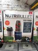 | 1X | NUTRI BULLET 1000 SERIES | UNCHECKED AND BOXED | NO ONLINE RE-SALE | SKU C5060191464734 | RRP