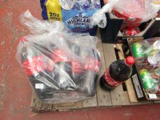 7x 1.5L Coca Cola bottles. BB 31/07/2020