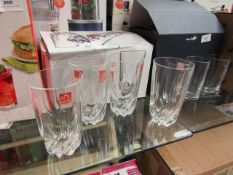4 x RCR  Home & Table Tumblers Boxed